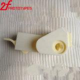 Aangepaste Witte Plastic ABS CNC die Delen machinaal bewerken