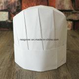 Protección de papel desechable gorro de chef Ronda Top