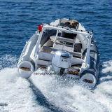 Liya 3.3m-8.3m Fiberglas-Rippen-Boots-steifes aufblasbares Boot