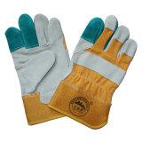 Кожаный чехол по охране труда рабочих рабочие перчатки