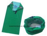 中国の工場OEMの農産物のカスタムロゴプリントポリエステル魔法の多機能のヘッドスカーフ