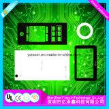Fabricant de l'usine de la membrane imprimé coloré de superposition du panneau avant