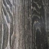 Mattonelle rigide del vinile di sembrare di legno del pavimento naturale di legno reale impermeabile di Spc