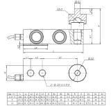 高精度の圧縮のせん断のビームLaodセンサー(B738)