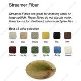 Una migliore selezione di 12 colori della mosca che lega materiale - fibra della fiamma