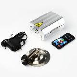 Lumière laser d'étape de disco de vert de Noël d'étoile du matériel 5V 1A du DJ mini