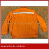 Outono do homem do algodão do OEM roupa protetora ao ar livre do melhor Quaity para o Workwear da segurança (W297)