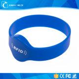Wristband su ordinazione impermeabile di marchio RFID Slicone di prezzi di fabbrica