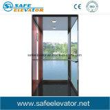 Лифт пользы нержавеющей стали стеклянный домашний