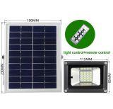 라이트 재충전용 옥외 IP65 10W 15W 18W LED 태양 플러드 빛