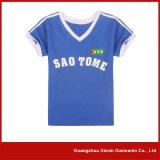 カスタム柔らかいニットはDri合った人(R153)のためのファブリックスポーツのTシャツに