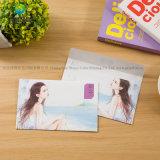 Envelopes de papel em branco coloridos pequenos do projeto retro mini
