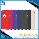 Senka elektronisches Produkt kundenspezifischer flüssiger Silikon-Handy-Fall für iPhone 7