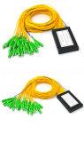 1*32 divisore monomodale del PLC G657A1 del contenitore ottico di ABS della fibra dello Sc APC