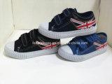 Aangepaste Injectie van uitstekende kwaliteit van de Schoenen van het Canvas van Kinderen Hotsale de Toevallige (FHH1206-13)