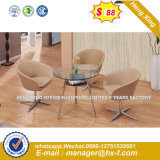Presidenza bassa di legno di svago del sofà del tessuto classico della mobilia (HX-SN8032)