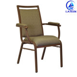 Muebles modernos de alta calidad de madera metal como silla de comedor