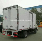 FAWの4X2によって冷やされている貨物自動車のトラックトラック5トンの低温貯蔵の