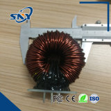 Bobina do afogador Ferquency de alta potência indutor de filtro de indutor de alimentação toroidal