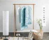 Personalizar el color de luz clara traje cierre de cremallera PEVA Bolsa de prendas de vestir