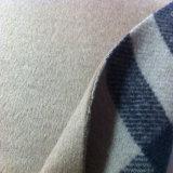 Cepillo de tejido de lana, tejido de lana de color liso pulido