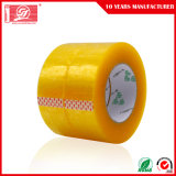 BOPP por atacado que empacotam da fita desobstruída da embalagem da fita a fita adesiva de empacotamento transparente (feita em China)