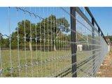 Frontière de sécurité galvanisée plongée chaude de bétail classée par ferme en acier de joint de charnière de frontière de sécurité