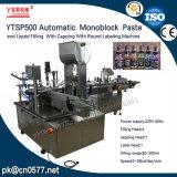 Machine à étiquettes recouvrante remplissante de Ytsp500 Monoblock pour le vin