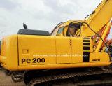 Excavatrice hydraulique PC200 de chenille d'excavatrice d'occasion de KOMATSU