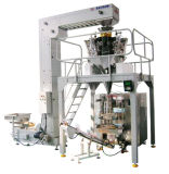 Papas Fritas automática Máquina de pesaje y embalaje