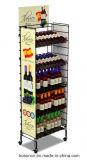 모듈 팽창할 수 있는 주류 및 알콜 음료 포도주 금속 진열대