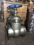 L'acier inoxydable sanitaire a bridé robinet à tournant sphérique de robinet à tournant sphérique