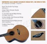 Двойника согласия художника гитара мастерского верхняя твердая акустическая (SG03DAR)
