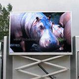 Publicidade em vídeo P8 SMD LED de exterior com todas as cores da tela do visor