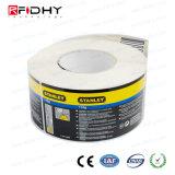 Modifica astuta passiva di frequenza ultraelevata dell'autoadesivo della catena di rifornimento 860MHz-960MHz RFID