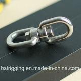 チェーン接続のためのステンレス鋼の旋回装置の目そして目