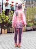 Плащпалаты плаща плащпалаты PVC плащ с капюшоном взрослый пластичной устранимый