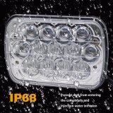 Linternas altas-bajas al por mayor del proyector de la viga 7inch H4 LED de DRL para el jeep campo a través 84-95 del carro cherokee