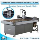 Cortador automático do molde do CNC do sócio da máquina de costura