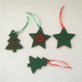 フェルトのクリスマスの装飾のクリスマスのフェルトの球のフェルトのクリスマスの装飾