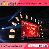 Alta pared a todo color de interior del vídeo de la definición P3 HD LED