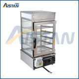 vapore cinese di vetro elettrico del panino di Commerical della piattaforma 500L 5 della strumentazione della cucina di approvvigionamento
