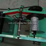Belüftung-überzogene doppelte Strang-Stacheldraht-Ineinander greifen-Maschine