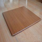 中国の製造業者のローラーのコートの木の穀物アルミニウムクリップ天井