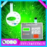 2017 горячая продажа электронных мембранного переключателя силиконового каучука мембранный переключатель