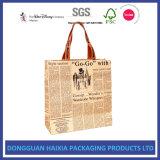 I sacchetti di elemento portante al minuto di lusso per acquisto calza l'imballaggio cosmetico dei regali degli indumenti