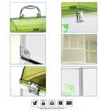 Алюминиевая коробка индивидуального пакета с замком ключа безопасности