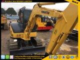 Excavador usado excavador usado de la rueda PC55mr-2 de KOMATSU PC55mr-2 del material de construcción