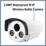 Objektiv Onvif IR der Überwachung-2.0MP wasserdichte wahlweise freigestellte drahtlose Gewehrkugel-Kamera