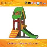 Matériel neuf de cour de jeu d'enfants de glissière de PE et en métal (PE-22402)